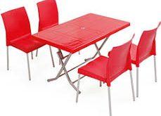 میز ناهار خوری پلاستیکی