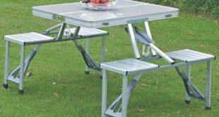 انواع میز و صندلی تاشو