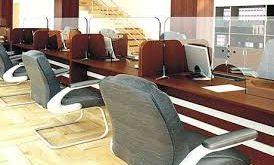 میز اداری بانکی