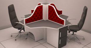 میز اداری جزیره