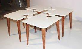 عرضه انواع میز تاشو عسلی چوبی