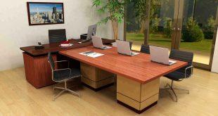 میز اداری مدیریتی هایگلاس